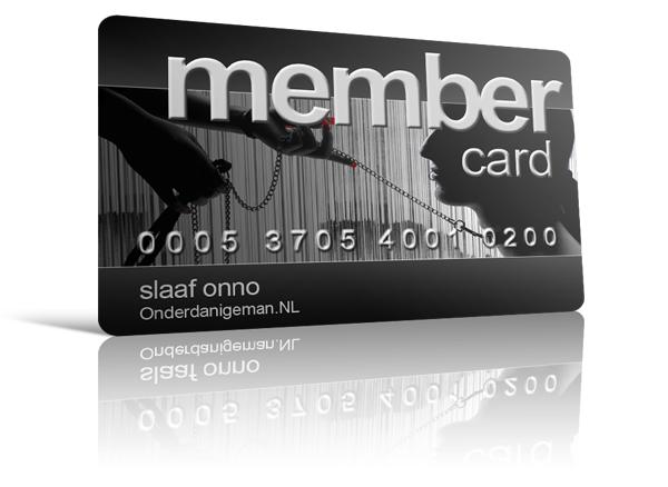 Onderdanigeman Membership