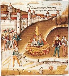 Homostraf in de Middeleeuwen