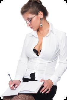 Sexy secretaresse