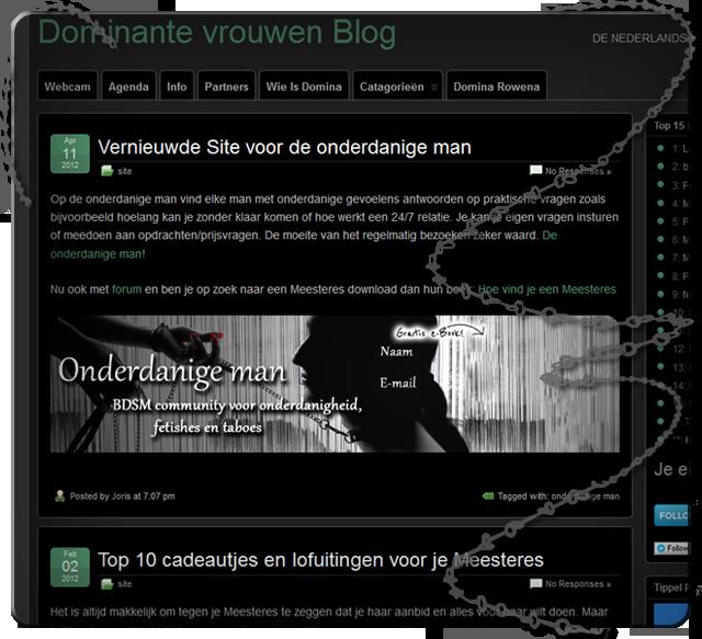 Klapjes over Onderdanigeman.NL
