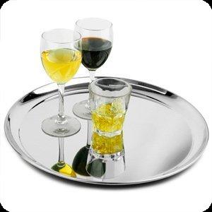Dienblad met drankjes