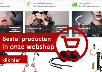bestel uit onze BDSM webshop